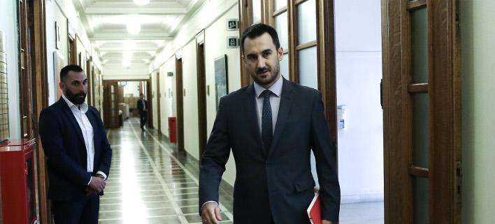 Ο Αλέξης Χαρίτσης/ Φωτογραφία intime news