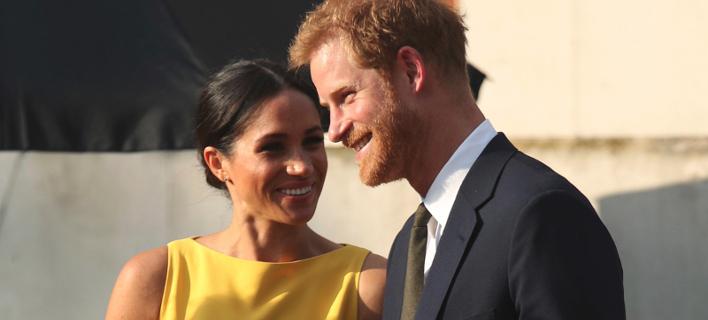 Πρίγκιπας Χάρι- Μέγκαν Μαρκλ/ Φωτογραφία: AP