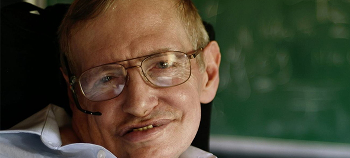 ΦΩΤΟΓΡΑΦΙΑ: Facebook /Stephen Hawking /Photo Credit: © Jaime Travezan