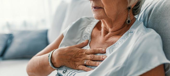 Σύνδρομο «ραγισμένης» καρδιάς. Φωτογραφία: Shutterstock