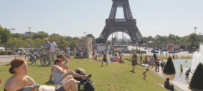 καύσωνας στην Γαλλία/Φωτογραφία: AP
