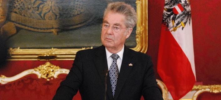 Ο Αυστριακός πρόεδρος δηλώνει... έκπληκτος για την απουσία της Ελλάδας από τη Διάσκεψη της Βιέννης
