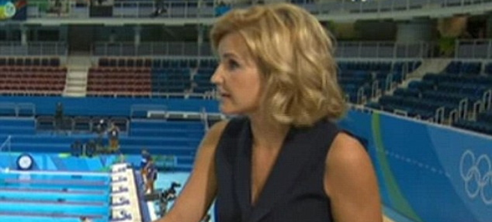 Ολυμπιακοί Αγώνες: Η Βρετανίδα δημοσιογράφος που προκάλεσε σάλο με το μίνι της [εικόνες]