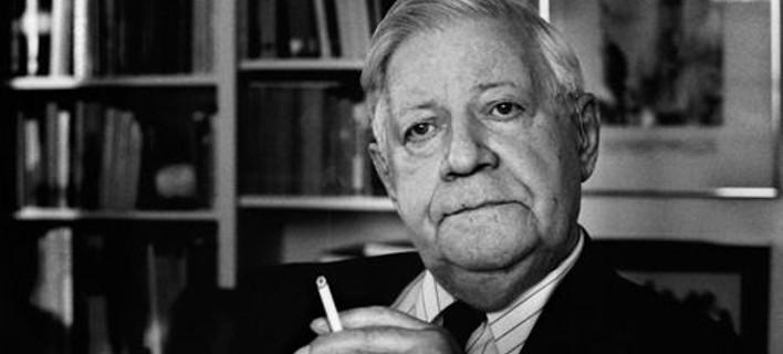 Πέθανε ο πρώην καγκελάριος της Δυτικής Γερμανίας Χέλμουτ Σμιτ