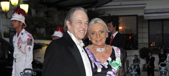 Ο Ερρίκος της Ορλεάνης με τη σύζυγό του/ Φωτογραφία: ΑΠΕ/ EPA- BRUNO BEBERT