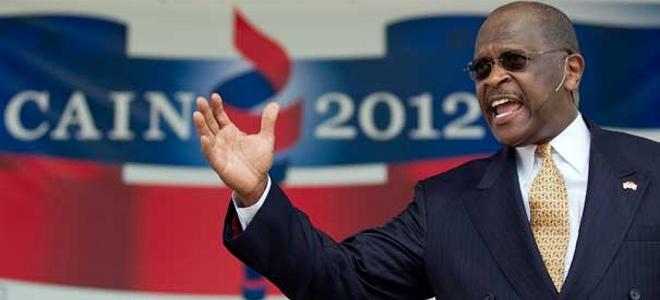 Χέρμαν Κέιν, Herman Cain, Αμερική, Ρεπουμπλικάνοι, μαργαριτάρια, κοτσάνα, δίκη,