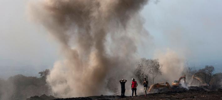 Ηφαίστειο-Γουατεμάλα/Φωτογραφία: AP