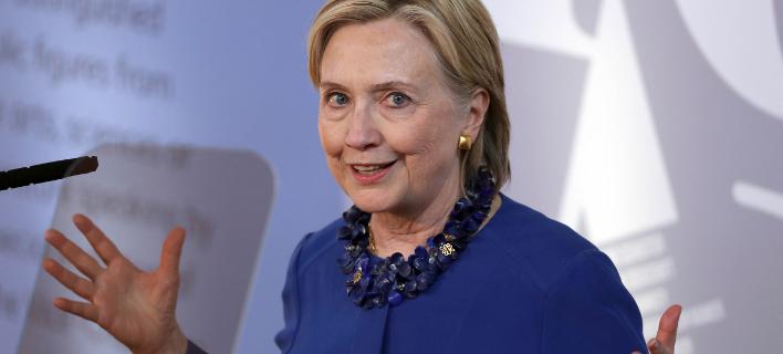 H πρώην προεδρική υποψήφια των Δημοκρατικών, Χίλαρι Κλίντον (Φωτογραφία: ΑΡ)