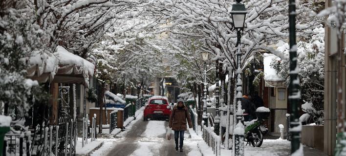 Αποτέλεσμα εικόνας για foto κακοκαιρια χιονι