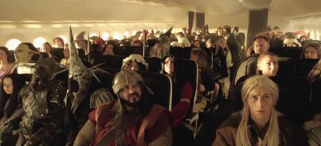 Οδηγίες ασφαλείας πτήσης με πρωταγωνιστές... Χόμπιτ! [βίντεο]