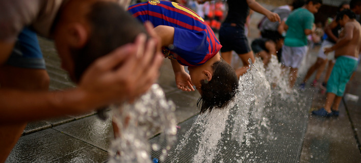 Αυξάνονται οι θερμοκρασίες την επόμενη πενταετία/ Φωτογραφία AP images