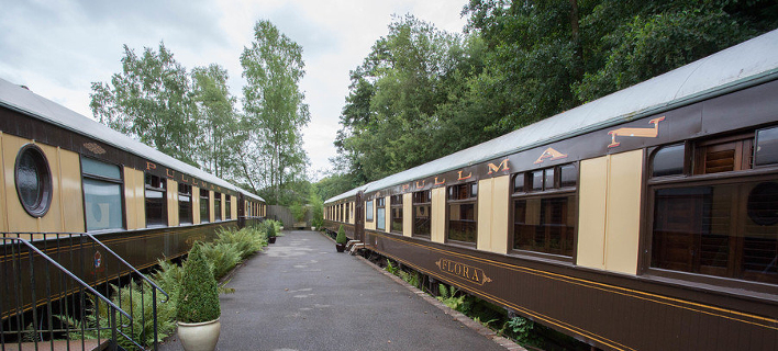Στο Σάσεξ της Αγγλίας, παλιός σιδηροδρομικός σταθμός μετετράπηκε σε ξονοδοχείο