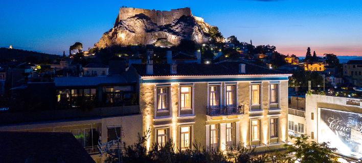 Palladian home -Θέα carte postale από το νέο boutique hotel της πόλης [εικόνες]