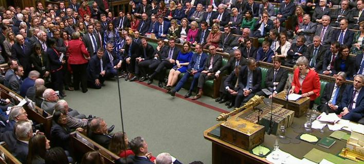 Το βρετανικό κοινοβούλιο (Φωτογραφία: House of Commons/PA via AP)