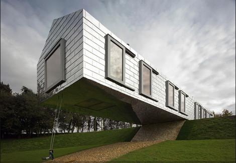 Εντυπωσιακά κτίρια σε απίστευτα σημεία που αψηφούν τη βαρύτητα
