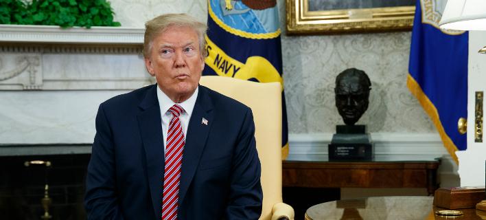 Ο Πρόεδρος των ΗΠΑ, Ντόναλντ Τραμπ/Φωτογραφία: AP