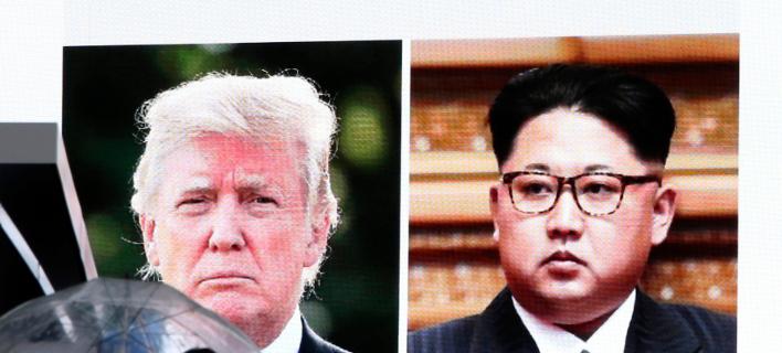 Ο Βορειοκορεάτης ηγέτης αναφέρθηκε δημόσια στον «διάλογο» με τις ΗΠΑ/ Φωτογραφία: AP