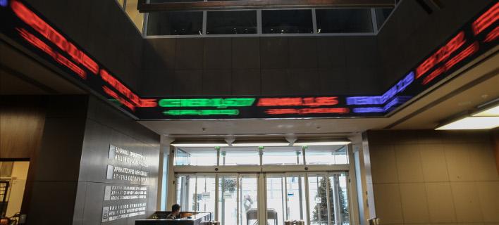 Πτωτικές τάσεις στο Χρηματιστήριο/Φωτογραφία: Eurokinissi