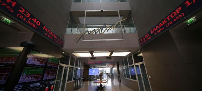 Συνεδρίαση του Χρηματιστηρίου (Φωτο: Eurokinissi)