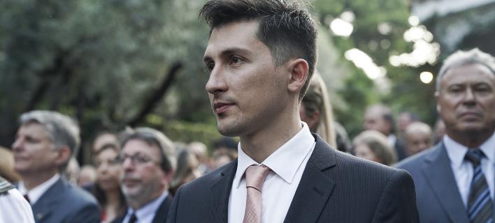 Ο εκπρόσωπος του ΚΙΝΑΛ Παύλος Χρηστίδης / Φωτογραφία: EUROKINISSI
