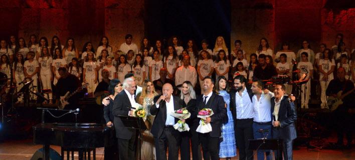 το φινάλε της συναυλίας/Φωτογραφία: NDPphoto