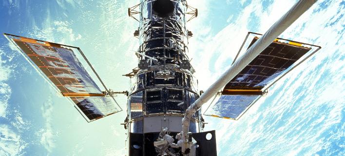 Το θρυλικό τηλεσκόπιο Hubble / Φωτογραφία: NASA/AP Images
