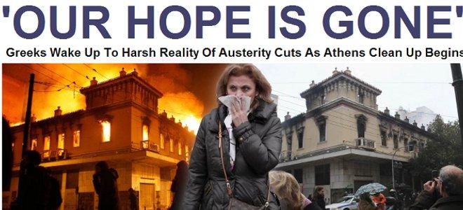 Huffington Post: Χάθηκε η ελπίδα των Ελλήνων