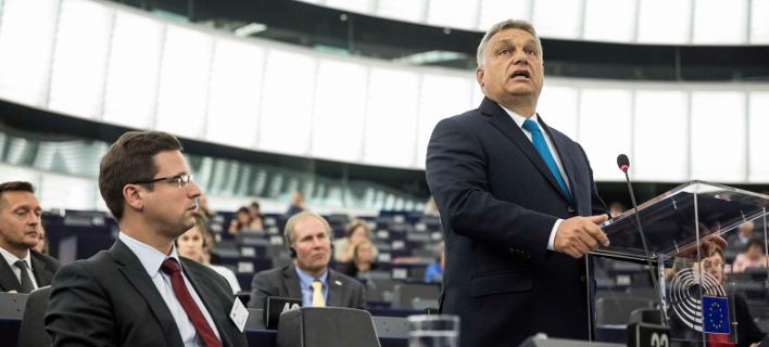 O πρωθυπουργός της Ουγγαρίας, Βίκτορ Όρμπαν (Φωτογραφία: ΑΡ)