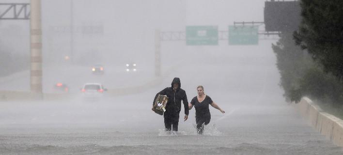 Συναγερμός στο Τέξας από την υπερχείλιση φράγματος/ Φωτογραφία: David J. Phillip/AP