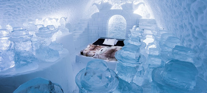 Κρεβατοκάμαρα, φωτογραφία: icehotel.com
