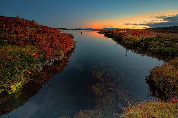 Μπλασκογκάμπιγκο, Ισλανδία