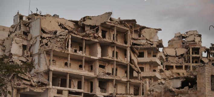 Τουλάχιστον 8 νεκροί στην Ιντλίμπ/ Φωτογραφία αρχείου: AP- Ugur Can