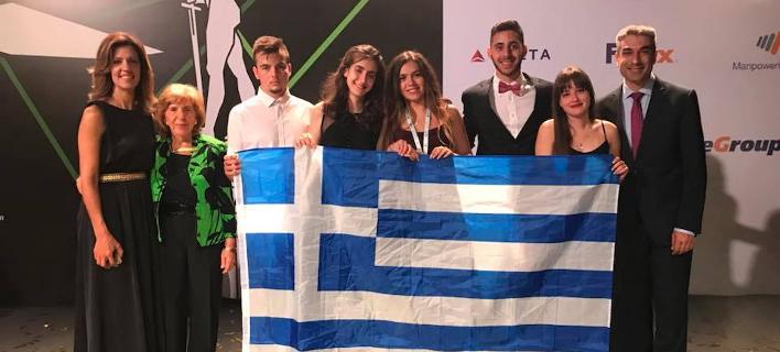 Η ελληνική μαθητική ομάδα που κέρδισε το βραβείο εταιρικής φιλοσοφίας