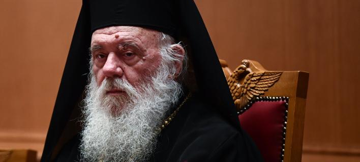 Ο Αρχιεπίσκοπος Ιερώνυμος (Φωτογραφία: IntimeNews/ΒΑΡΑΚΛΑΣ ΜΙΧΑΛΗΣ)