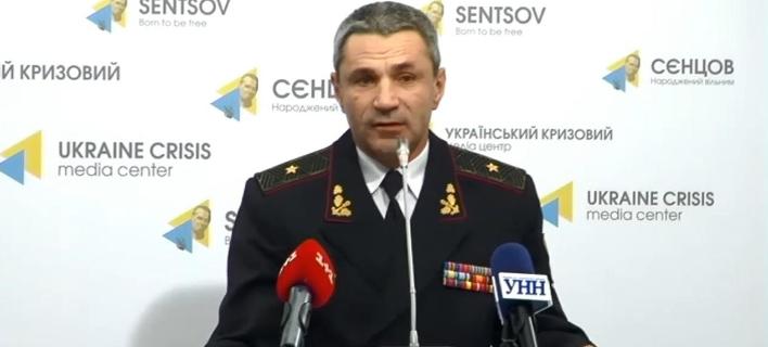 O διοικητής των ναυτικών δυνάμεων της Ουκρανίας (Φωτογραφία: YouTube)