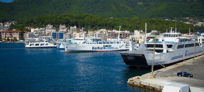 Το λιμάνι της Ηγουμενίτσας/ Φωτογραφία: EUROKINISSI- ΓΙΩΡΓΟΣ ΚΟΝΤΑΡΙΝΗΣ