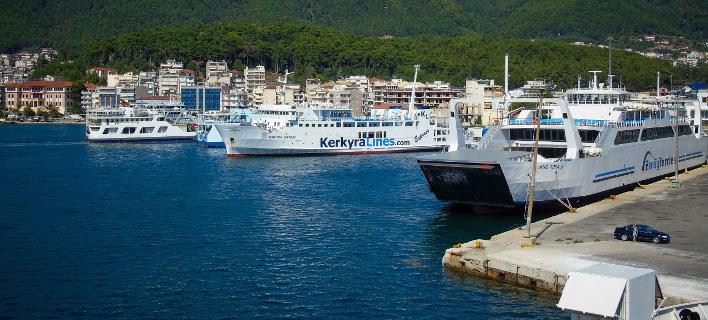 Το λιμάνι της Ηγουμενίτσας/Φωτογραφία: Eurokinissi
