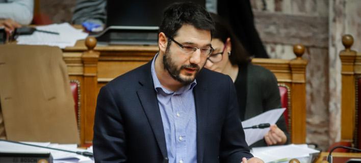 Ο Νάσος Ηλιόπουλος / Φωτογραφία: EUROKINISSI/ΓΙΩΡΓΟΣ ΚΟΝΤΑΡΙΝΗΣ