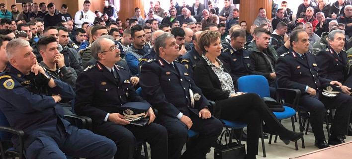 Επίσκεψη Πολιτικής και Φυσικής Ηγεσίας της Αστυνομίας στη Δ.Α.Ε.Α.