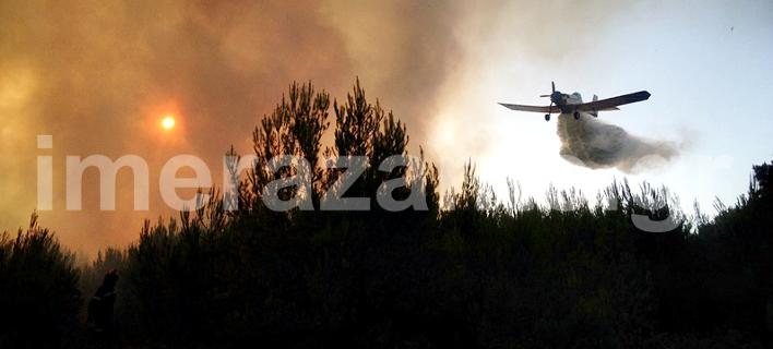 Τρία τα μέτωπα της φωτιάς στη Ζάκυνθο -Πυρκαγιά και στην Καλαμάτα [εικόνες]