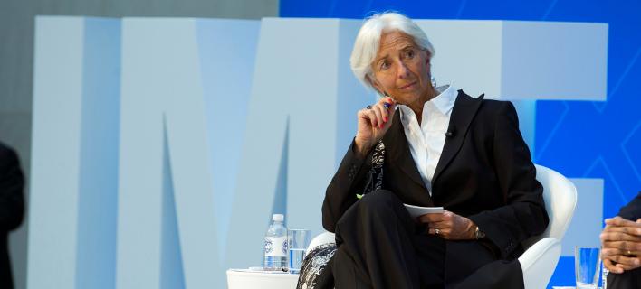 H επικεφαλής του Διεθνούς Νομισματικού Ταμείου Κριστίν Λαγκάρντ/Φωτογραφία: ΑΡ