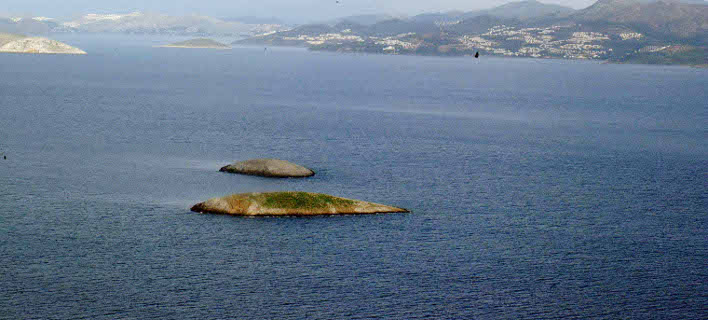 Μεγάλα προβλήματα για τους Ελληνες ψαράδες στα Ιμια (Φωτογραφία: EUROKINISSI)
