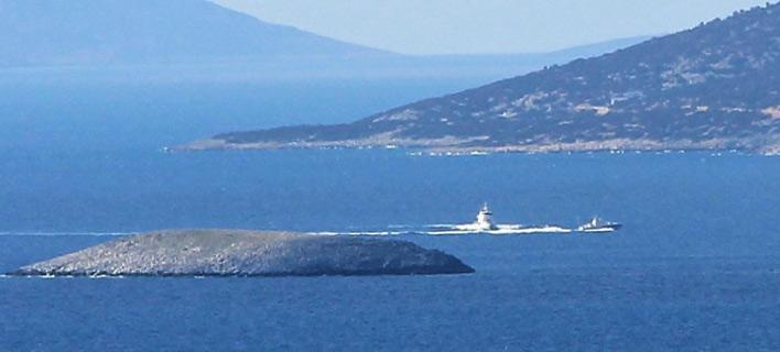 Νέα ένταση στα Ιμια:Τρεις ώρες «κυνηγητό» ελληνοτουρκικών πολεμικών σκαφών [βίντεο]