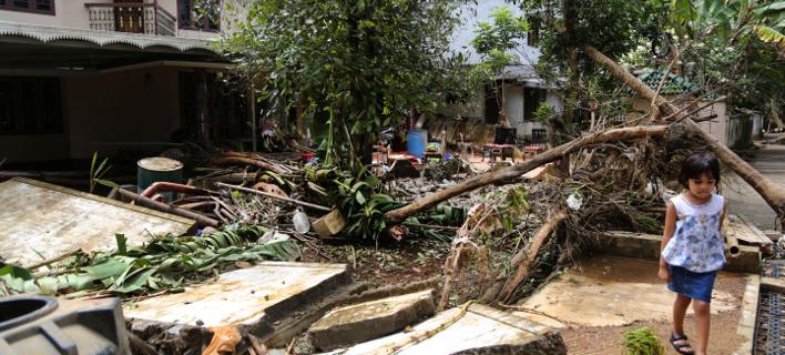 πλημμύρες στην Ινδία/Φωτογραφία: AP