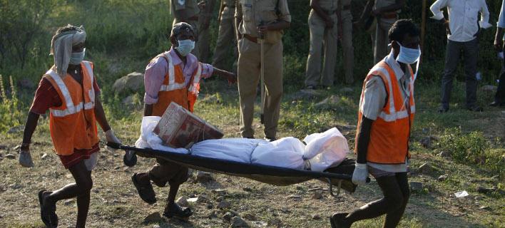 Πολύνεκρο δυστύχημα στην Ινδία (Φωτογραφία αρχείου: AP/ Mahesh Kumar A.)