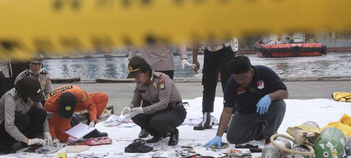 συντριβή αεροσκάφους στην Ινδονησία/Φωτογραφία: AP
