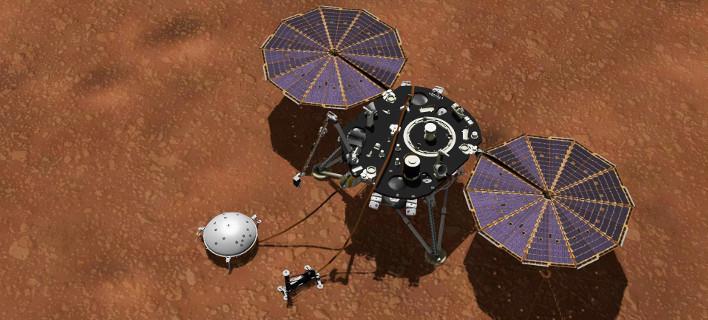 Το InSight δείχνει τι καιρό έχει στον Αρη