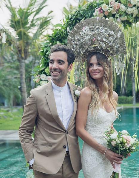 Στον θρησκευτικό τους γάμο στο Μπαλί