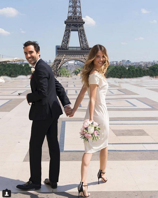 Ο πολιτικός τους γάμος στο Παρίσι