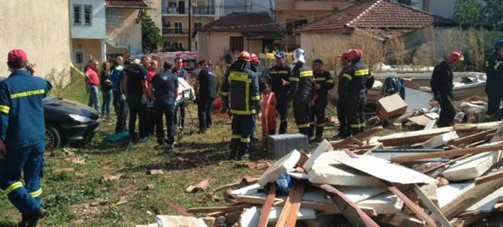 Έκρηξη σε μονοκατοικία στα Γιάννενα /Φωτογραφία epirusgate